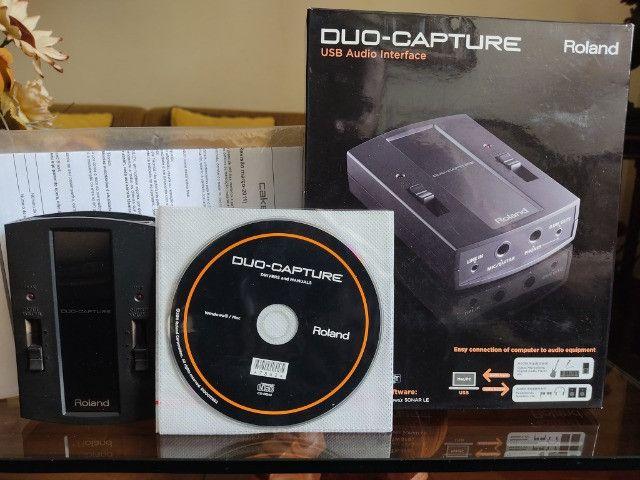 Interface de áudio Roland Capture Duo - Foto 5