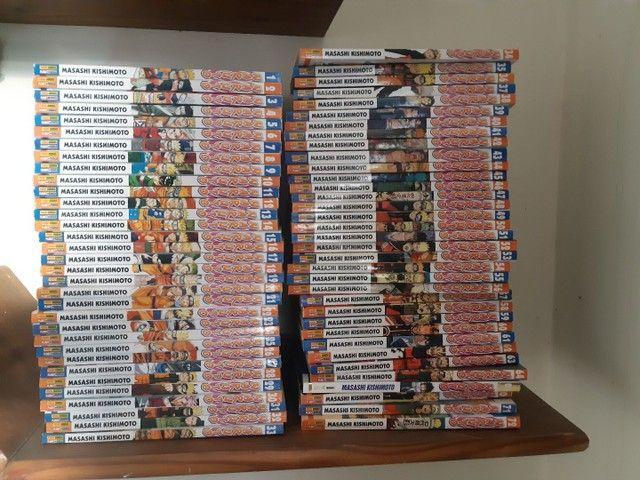 Mangás Naruto 1-65, 70-72 - Foto 2
