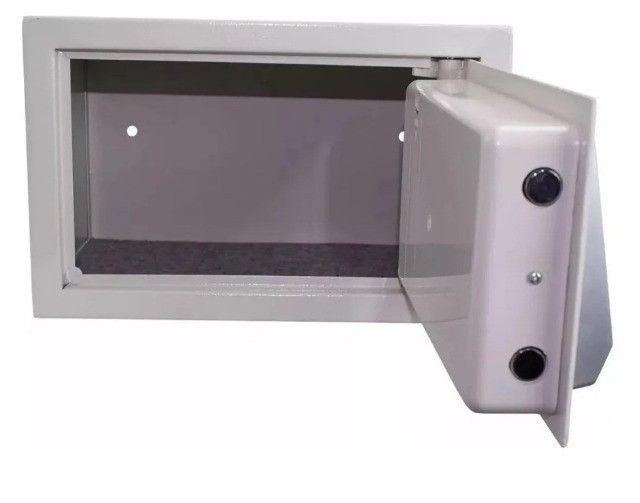 NOVO* Cofre Eletrônico Digital Chaves e Senha 31cm X 20,5cm X 20cm - Foto 2