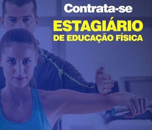 Contrata-se Estagiário para musculação.