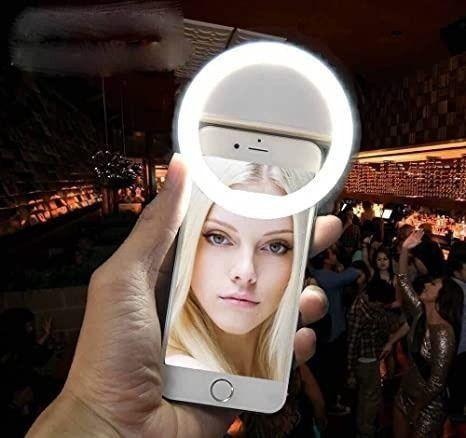 NOVO* Ring Light Luz de Selfie Universal