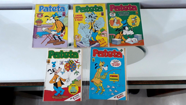 Gibis pateta 1 série lote coleção editora abril 32 revistas em quadrinhos Disney - Foto 3