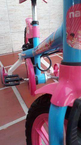 Bicicleta Infantil Aro 16 - Semi Nova - Foto 2