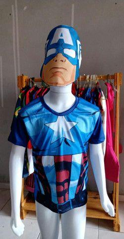 Blusas Super Heróis - Foto 5