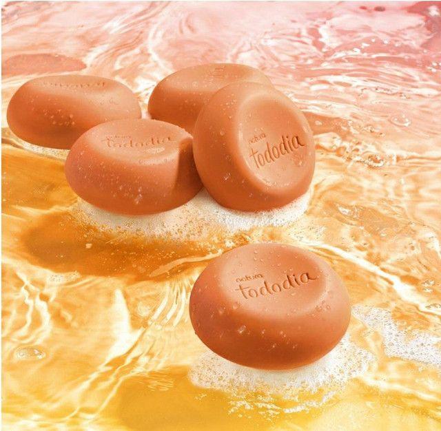 Natura Tododia sabonetes cremosos manga rosa e água de coco - Foto 2