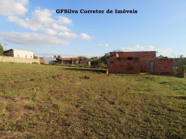 Terreno 1.000 m2 com construção água lúz internet Escritura Ref. 116 Silva Corretor - Foto 5