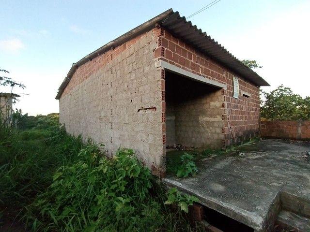Vende-se terreno com casa na alvenaria 50x12  - Foto 3