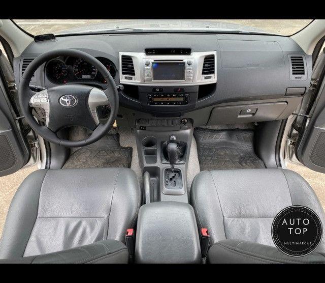 Hilux cd SRV 4x4 2.7 flex aut. 2012 *top*imperdível*financio em até 48x - Foto 3
