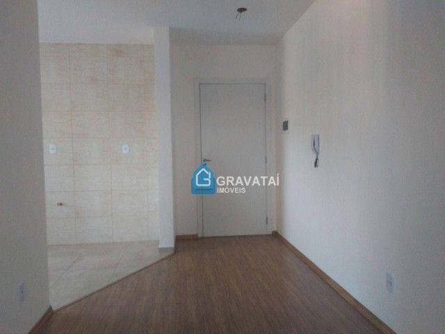 Apartamento com 2 dormitórios para alugar, 62 m² por R$ 1.120,00/mês - Monte Belo - Gravat - Foto 2