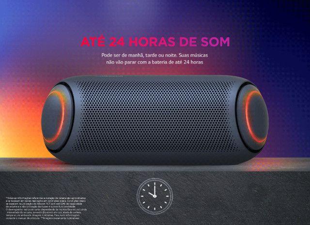 Caixa de Som LG XBoom GO PL7 Meridian 30W Lacrado Garantia - Em 10X com acréscimo de 10% - Foto 4