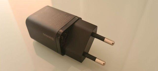Carregador fast charger baseus 20w