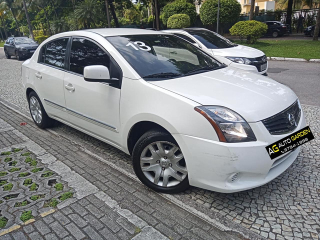 Nissan Sentra 2013 2.0 mec.branco(lindo!)completo+gnv+revisado+novíssimo!! - Foto 4