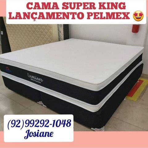 Cama super king cama super king Lumiere molas ensacadas