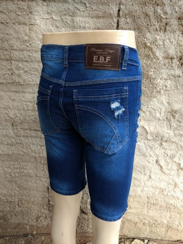Neres Fashion / Bermudas Jeans - Foto 6