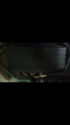 Sub Pioneer + módulo troco em TV led ou smart