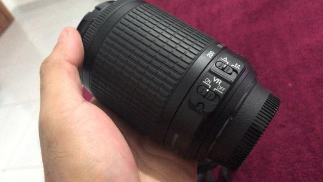 Lente Nikkor 55-200 AFS VR para Nikon