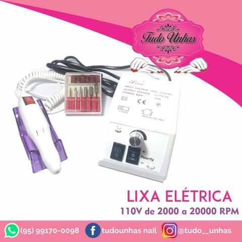 PROMOÇÃO da semana lixa eléctrica professional tel. *
