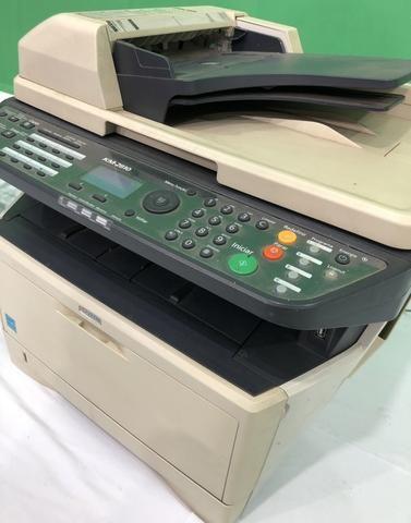 Vendo já impressora usada kiVendo impressora kiocera aceitamos cartões de crédito watsap - Foto 4