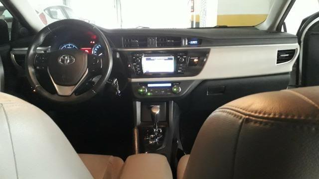 Corolla 2017 Xei 2.0 + GNV - MUITO NOVO - particular - carro de garagem - 43550km - Foto 12
