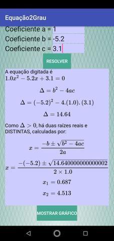 Aplicativo de resolução de equações - Foto 3