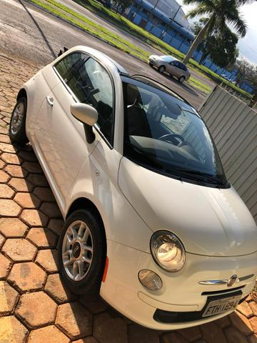 Fiat 500 cabriolet impecável - Foto 2