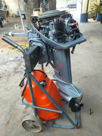 Motor evinrude 15 hp - Foto 4