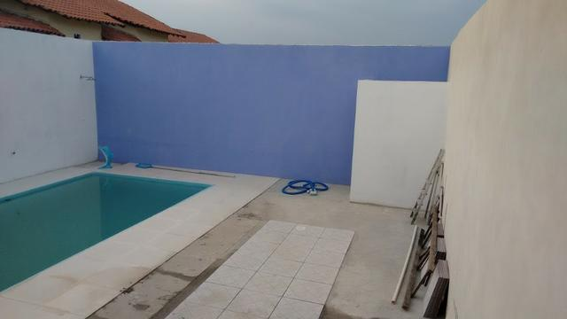 Casa de condomínio com 02 quartos,com piscina - Vista Alegre - SG - Foto 12