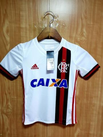 Camisa Adidas Flamengo Infantil 22c54da89bee4