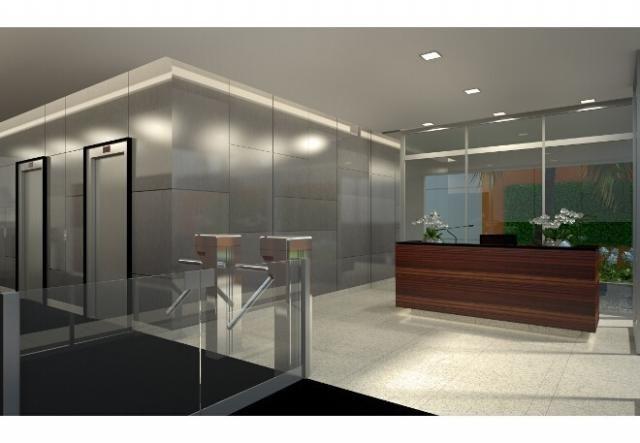 456 - Sala comercial 1 vaga 1 banheiro sacada Moema - Foto 3