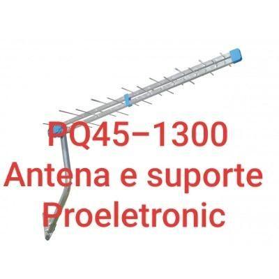 Antena Pq45-1300 Digital 38 Elementos 5 unidades Proeletronic com Suporte