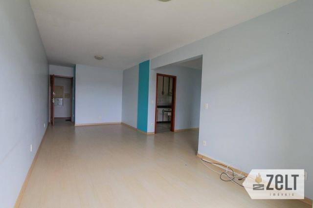 Apartamento residencial à venda, fortaleza, blumenau - ap0842. - Foto 3