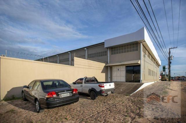 Galpão para alugar, 1322 m² por r$ 16.000,00/mês - parque de exposições - parnamirim/rn - Foto 2