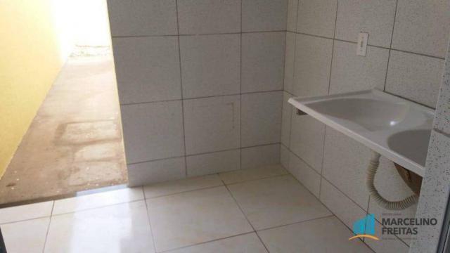 Casa com 3 dormitórios à venda, 90 m² por R$ 230.000 - São Bento - Fortaleza/CE - Foto 3
