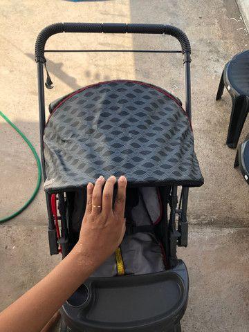 Vende-se carrinho de bebê Galzerano - Foto 3