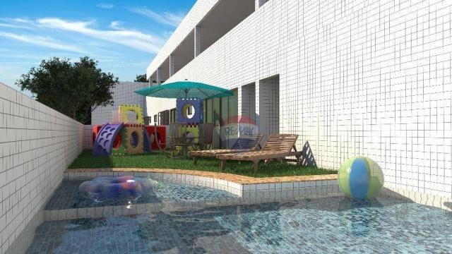 Apartamento com 1 dormitório à venda, 36 m² por R$ 199.000,00 - Casa Caiada - Olinda/PE - Foto 3