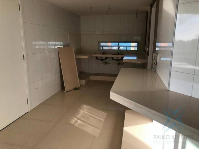 Apartamento com 4 dormitórios à venda, 245 m² - Meireles - Fortaleza/CE - Foto 16
