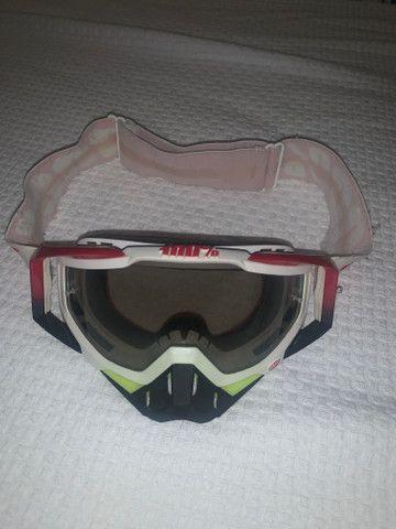 Oculos motocross downhill 100% - Foto 2