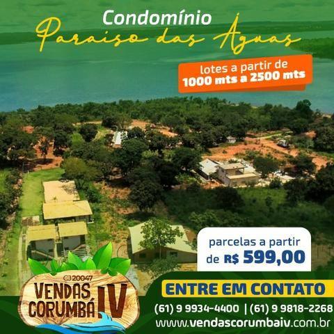 Lotes no Condomínio Paraíso das Águas , Corumbá IV