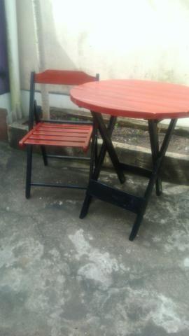 Mesas e cadeiras de Abrir e fechar