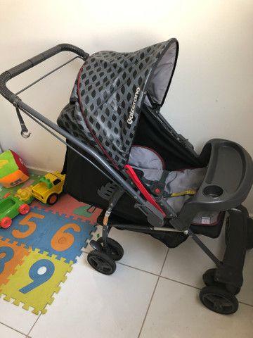 Vende-se carrinho de bebê Galzerano - Foto 6
