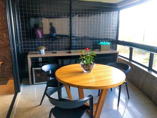 Apartamento com 252 metros com 3 suítes na praia de jatiuca - Foto 3