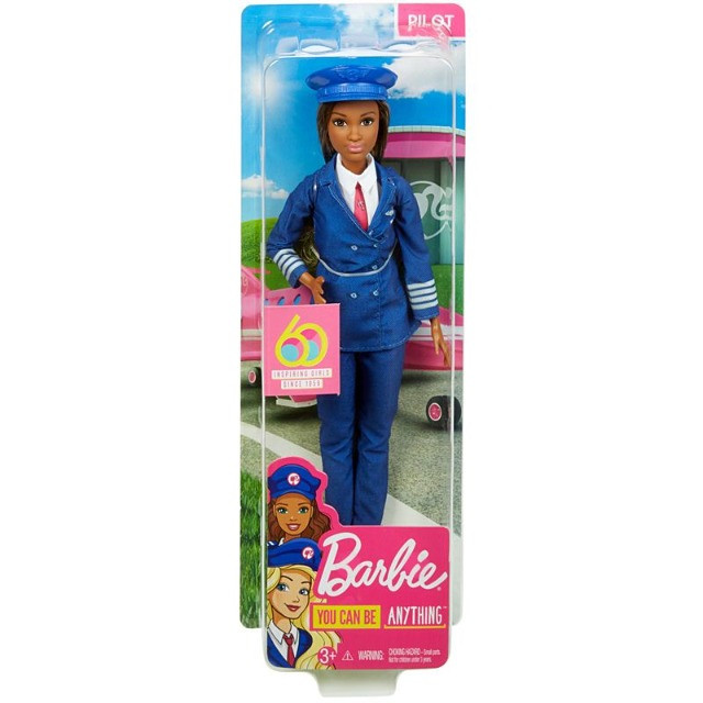 Boneca Barbie Piloto de Avião - Negra lindaaaa! - Foto 5