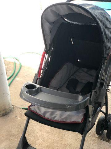 Vende-se carrinho de bebê Galzerano - Foto 5
