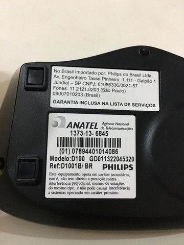 Telefone Sem Fio Philips Dect 6.0 - D1001b/br - Foto 2