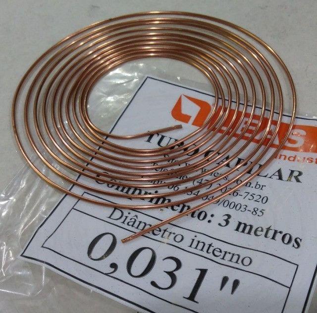Tubo Capilar (0,31/0,36/0,42/0,50mm) 3m - A partir de R$ 12,00 - Foto 2