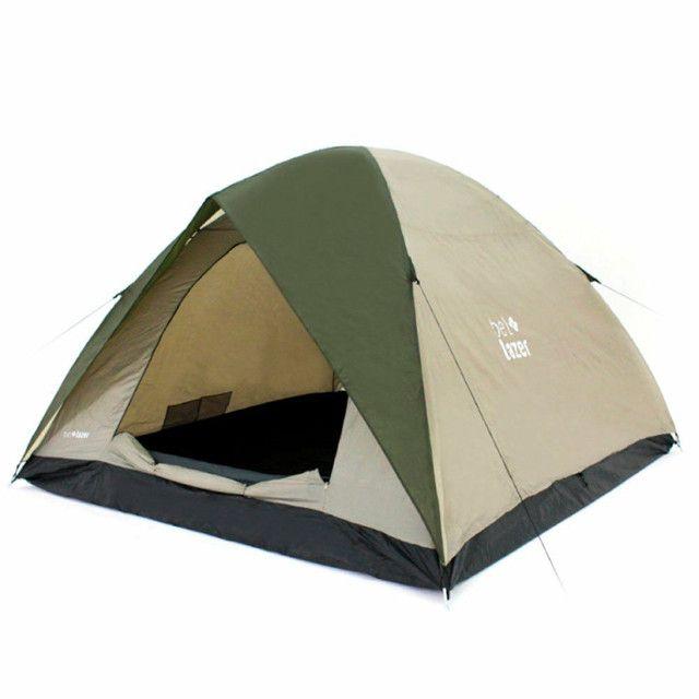 Barraca Camping Alta Premium 3 x 3m para 6 pessoas