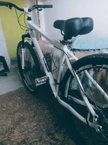 Bike aro 26 freio a disco nas duas rodas  - Foto 5