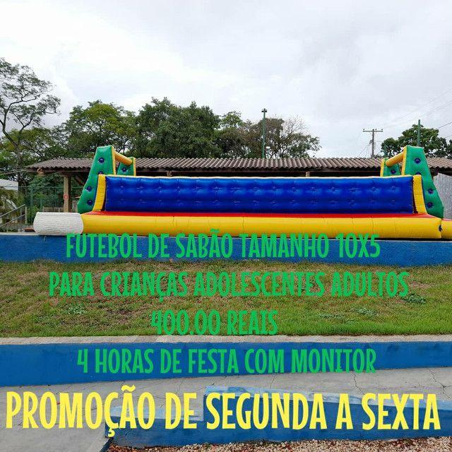 LOCAÇÃO DE BRINQUEDOS INFLÁVEIS  - Foto 3
