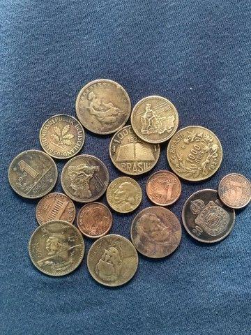 Notas antiga e moedas - Foto 4