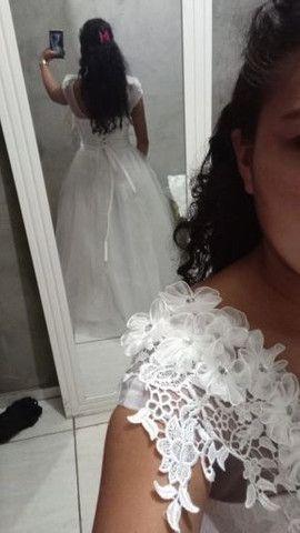 Vestido de noiva novo nunca usado  - Foto 2